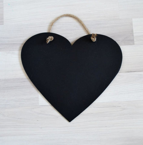 Wooden Drawing Board Heart - Toy