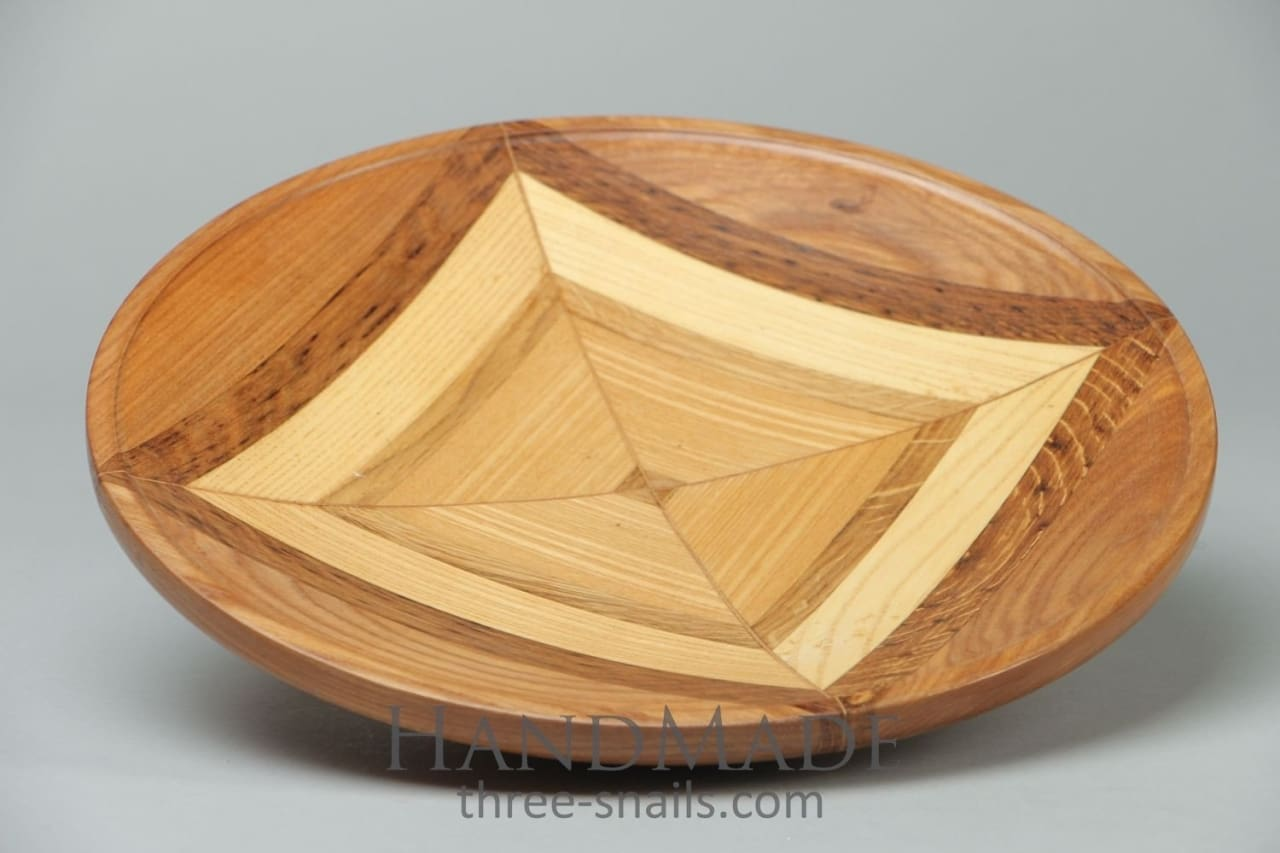 "Wooden plate ""The magic square"" - 1"