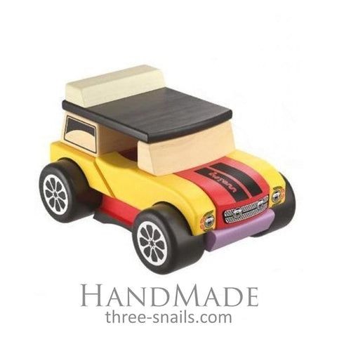 Wooden Toy Mini Cabriolet - Toy