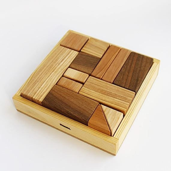 Wooden Toys Set Fun And Clever - Toy