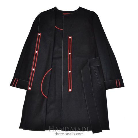 Wool Coat Aristocrat - 34 / Black / Us - Vasylchenko1