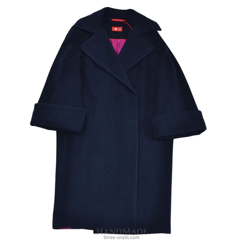 Wool Coat Big City Vibes - Vasylchenko1