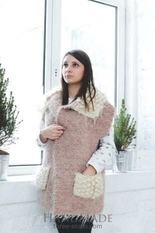 Wool Fashion Jacket Eco Dream - Vasylchenko1