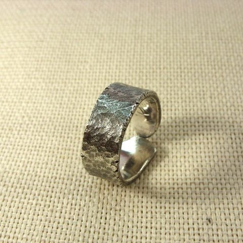 Wrought Silver Ring Strength - Melnichenko1
