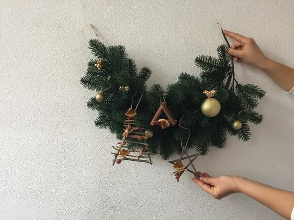 eco friendly decor - Cute Diy Christmas Decorations