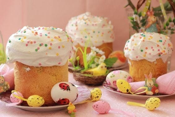 Ukrainian Tradition Of Easter Celebration Three Snails