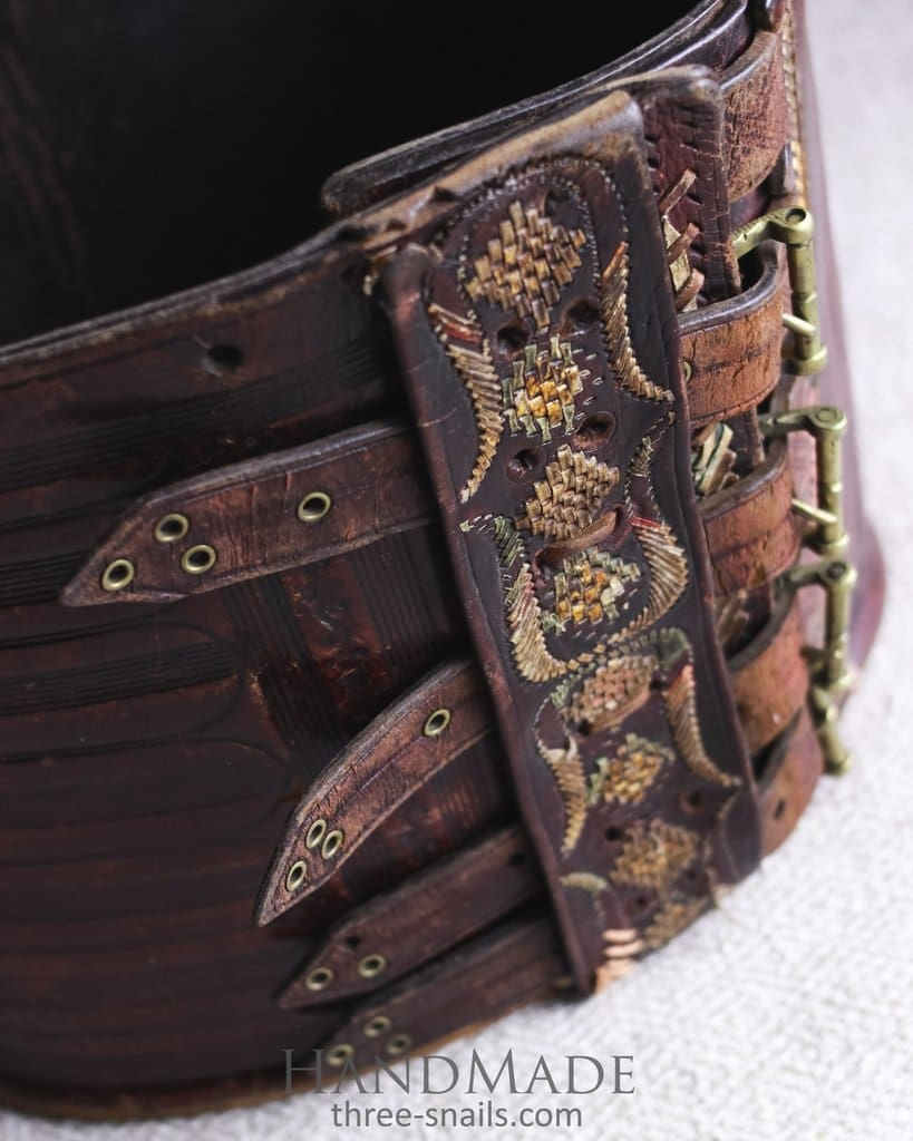 Cherest leather belt