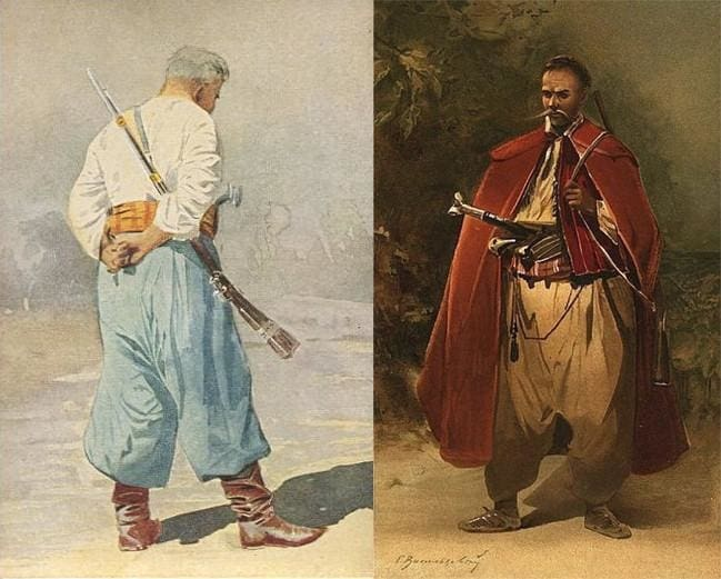 Ukrainian Cossak clothes
