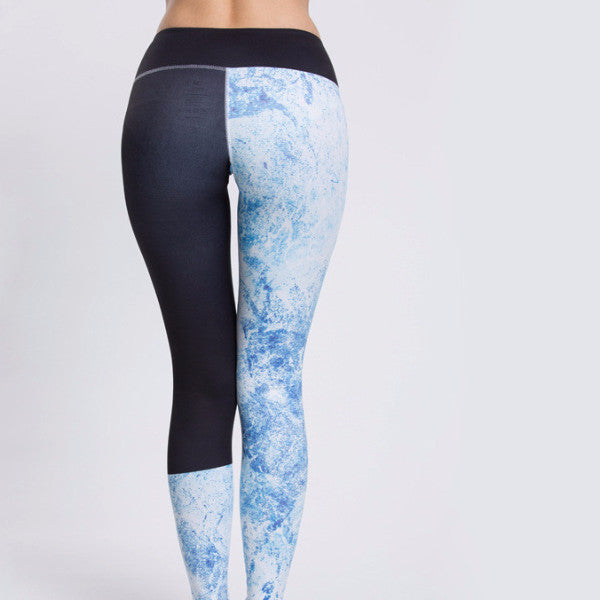 Patchwork Flora (Quick Drying) Yoga Fitness Leggings