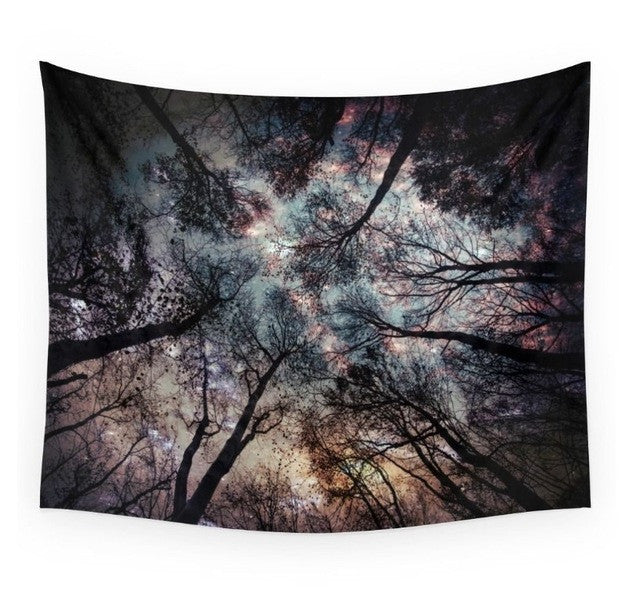 Mandala Tapestry / Wall Hanging Tapestries - Forest Sky Printing Boho (150X130)