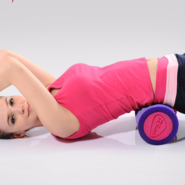 45*15cm Yoga Foam Roller Muscle Relaxer with a free bag
