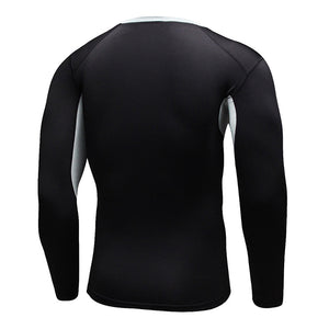 Quick Dry, Compression-Tight, Fitness Long Sleeveshirt