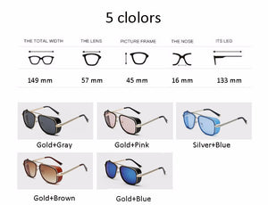 Fashionable IRON MAN 3 Sunglasses For Men Women With Clear Shades