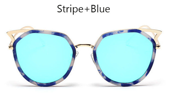 Ladies Fashionable Retro Cat Eye Sunglasses
