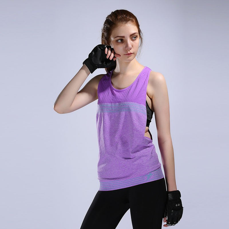 Women Professional Quick Dry, Breathable Tank top for Yoga, Fitness, Running & Sports