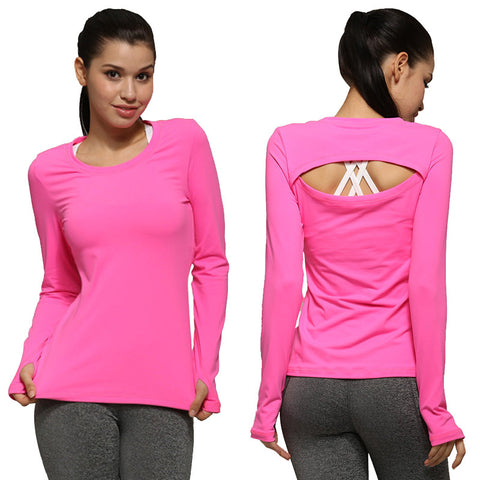 Womens Outdoor Long-sleeve quick dry top - Athleisure wear