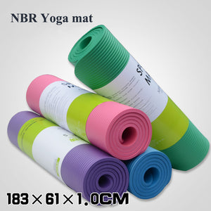 10MM,Non-slip, Yoga Mat with a free mesh bag