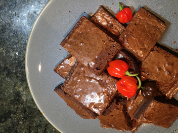 ChilliBOM Hot Sauce Brownies
