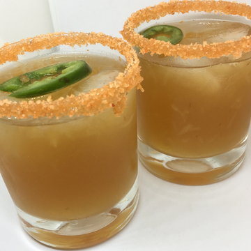 Spicy Michelada Cocktail with Hot Sauce