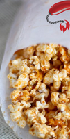 Popcorn with Hot Sauce Butter