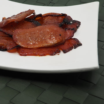 Spicy Sweet Bacon made with Hot Sauce