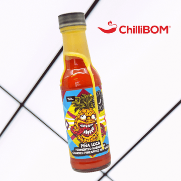[REVIEW] Chilli Cartel Pina Loca Fermented Habanero and Charred Pineapple Hot Sauce