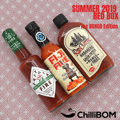 ChilliBOM Red Box Summer 2019 Bongo Edition Hot Sauce Subscription club online Australia