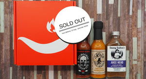 Pre-order ChilliBOM Subscription Hot Sauce Red Box
