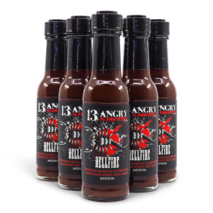 13 Angry Scorpions Hellfire 150ml ChilliBOM Hot Sauce Store Hot Sauce Club Australia Chilli Sauce Subscription Club Gifts SHU Scoville group2