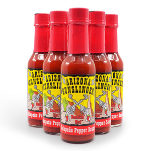Arizona Gunslinger Red Jalapeño 148ml group2 ChilliBOM Hot Sauce Club Australia Gifts Chilli Subscription Box