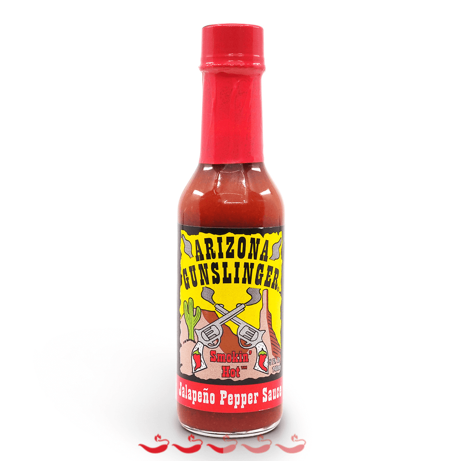 Arizona Gunslinger Red Jalapeño 148ml ChilliBOM Hot Sauce Club Australia Gifts Chilli Subscription Box