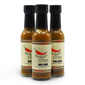 Basbaas Katra's Spicy Somali Hot Sauce 150ml group ChilliBOM Hot Sauce Club Australia Chilli Subscription Gifts SHU Scoville