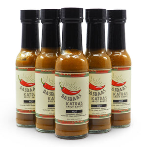 Basbaas Katra's Spicy Somali Hot Sauce 150ml group2 ChilliBOM Hot Sauce Club Australia Chilli Subscription Gifts SHU Scoville