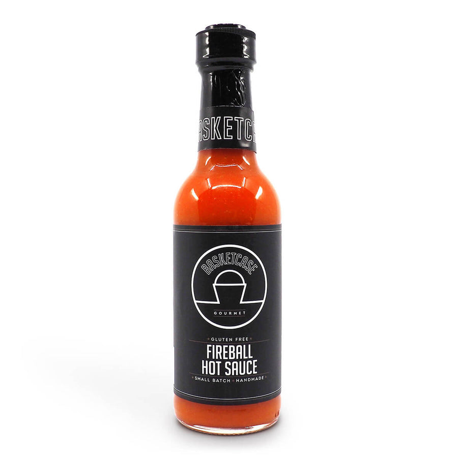 Basketcase Fireball Hot Sauce 250ml ChilliBOM Hot Sauce Club Australia Chilli Subscription Gifts SHU Scoville