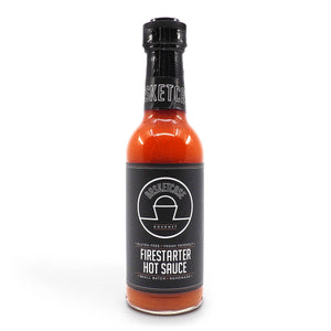 Basketcase Firestarter Hot Sauce 250ml ChilliBOM Hot Sauce Club Australia Chilli Subscription Gifts SHU Scoville