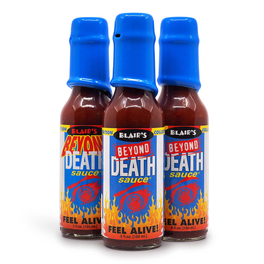 Blair's Beyond Death Hot Sauce 148ml ChilliBOM group Hot Sauce Club Australia Chilli Subscription Gifts SHU Scoville