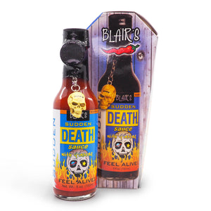 Blair's Sudden Death Hot Sauce 150ml gift ChilliBOM Hot Sauce Club Australia Chilli Subscription Gifts SHU Scoville