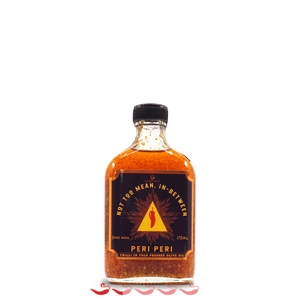 Bondi Heat Peri Peri Infused Oil 170ml ChilliBOM Hot Sauce Club Australia Chilli Subscription Gifts SHU Scoville Not Too Mean, in-between