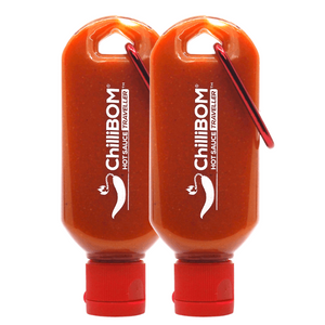 Hot Sauce Traveller ChilliBOM Hot Sauce Australia Travel bottle