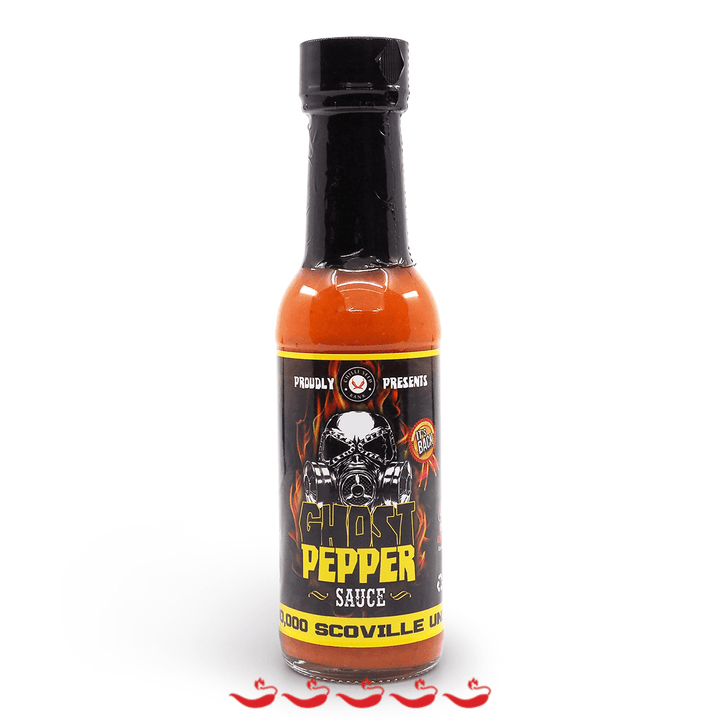 Chilli Seed Bank Ghost Pepper Hot Sauce 150ml 1 million SHUs ChilliBOM Hot Sauce Club Australia Chilli Subscription Gifts SHU Scoville