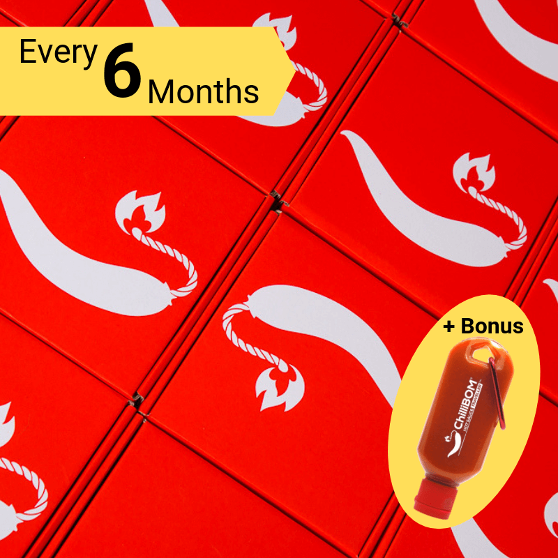 ChilliBOM Red Box 6 Month Subscription ChilliBOM Red Box 6 Month Subscription bonus