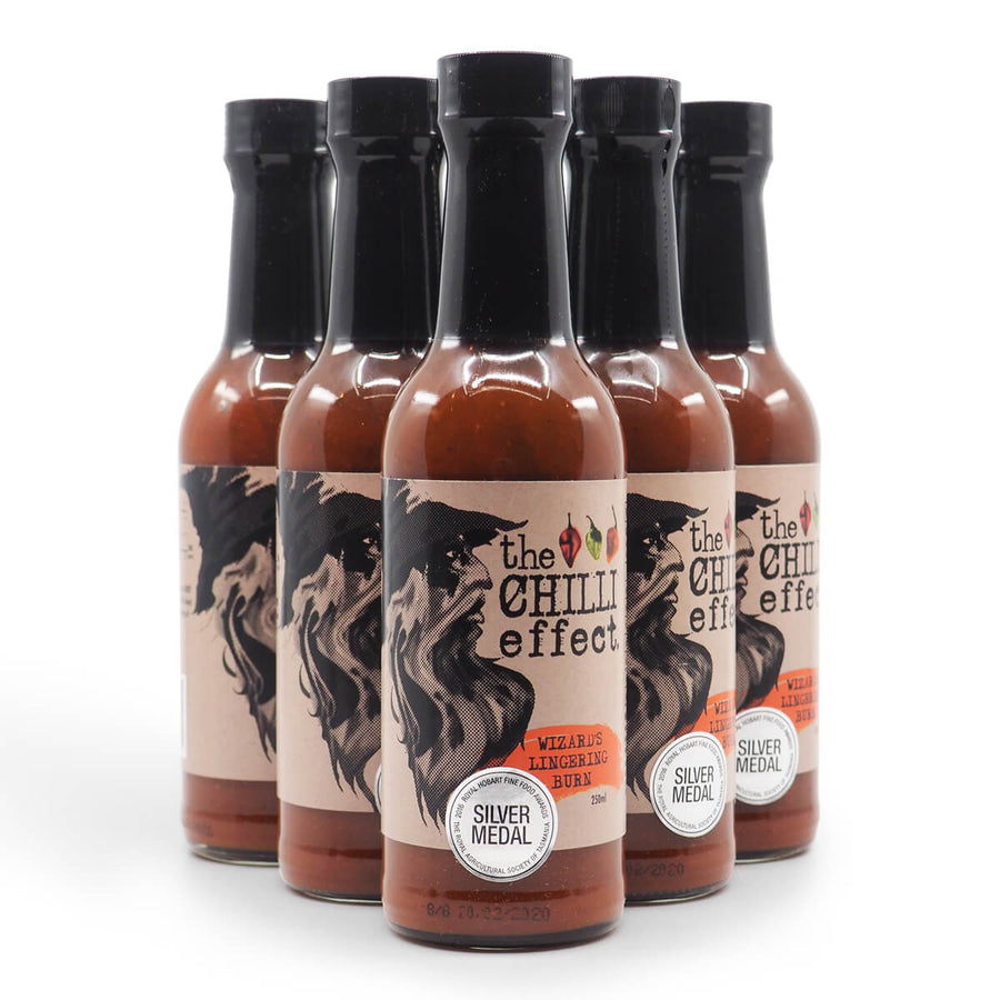 The Chilli Effect Wizard's Lingering Burn 250ml group 2 ChilliBOM Hot Sauce Club Australia Chilli Subscription Gifts