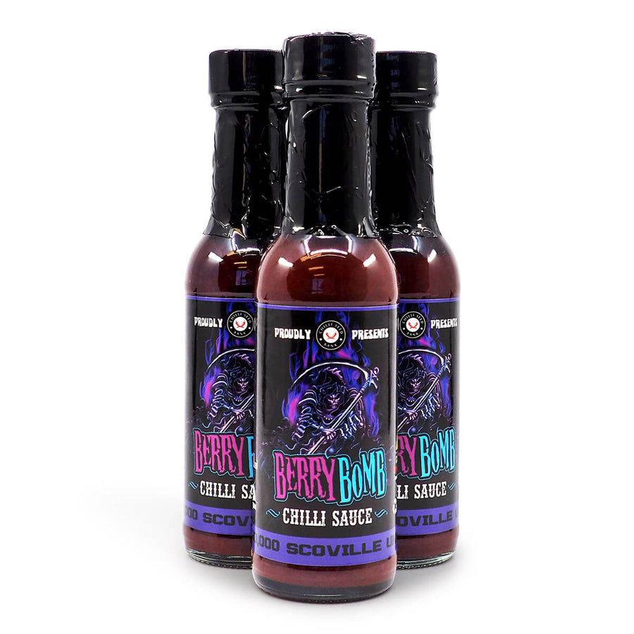 Chilli Seed Bank Berry Bomb Chilli Sauce 150ml ChilliBOM Hot Sauce Store Hot Sauce Club Australia Chilli Sauce Subscription Club Gifts SHU Scoville group