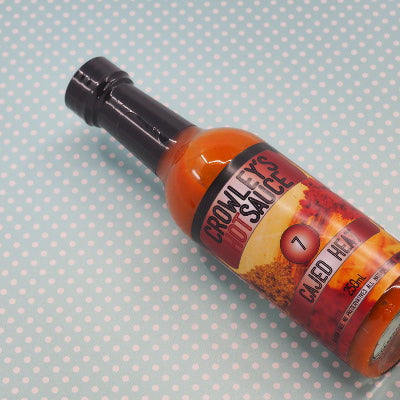 Crowleys Hot Sauce Cajed Heat 250ml ChilliBOM Hot Sauce Club Australia Chilli Subscription Gifts SHU Scoville