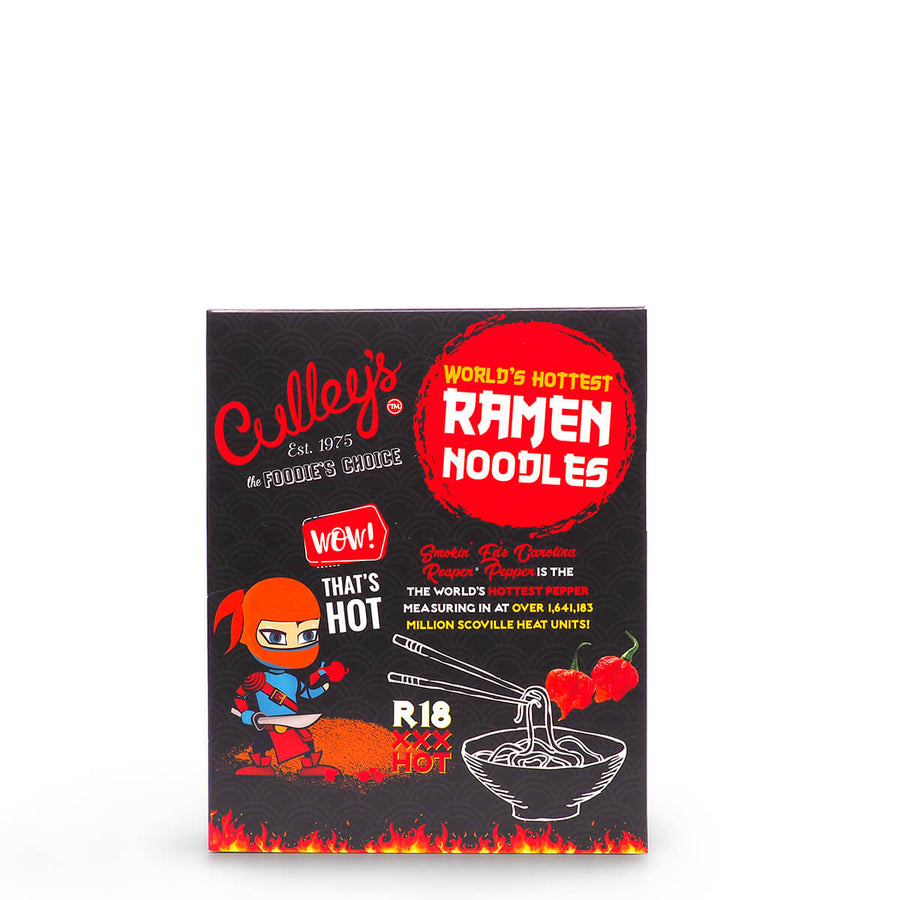 Culley's World's Hottest Ramen Noodles ChilliBOM Hot Sauce Club Australia Chilli Subscription Gifts SHU Scoville