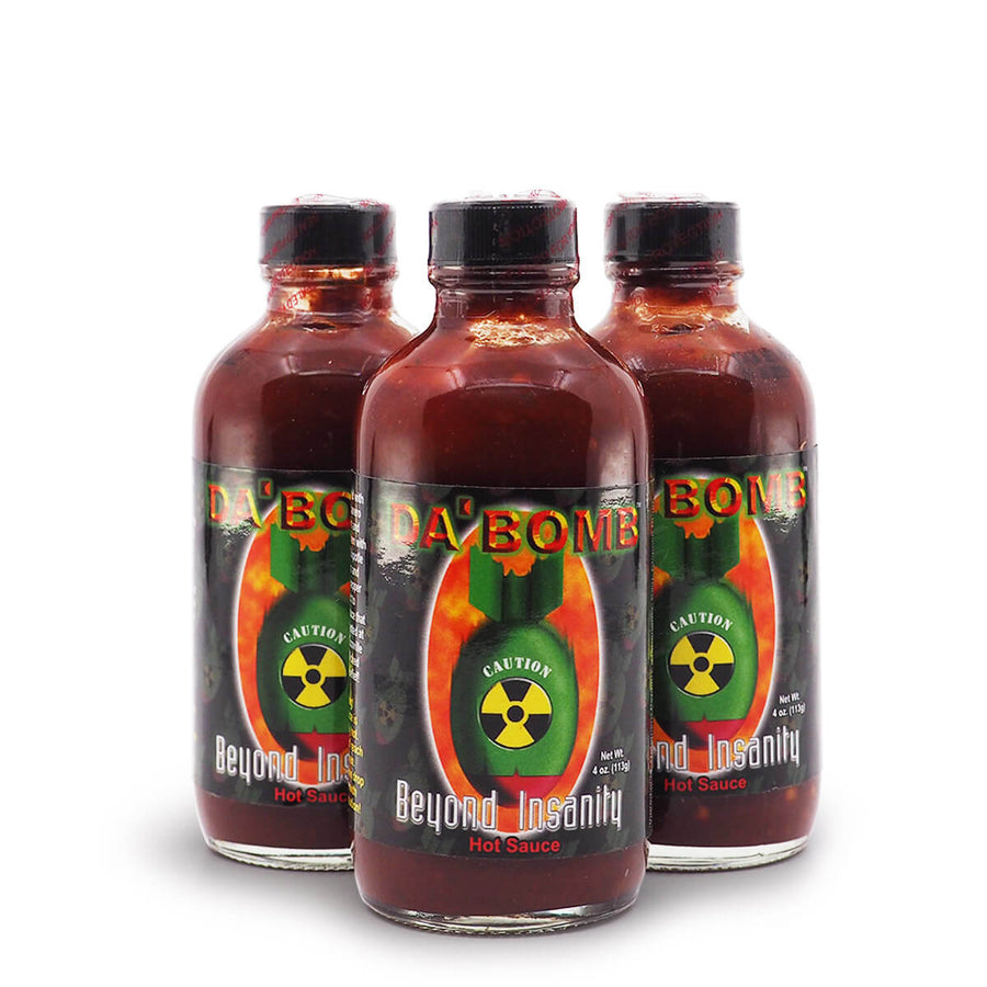 Da Bomb Beyond Insanity ChilliBOM Hot Sauce Store Hot Sauce Club Australia Chilli Subscription Club Gifts SHU Scoville Hot Ones group