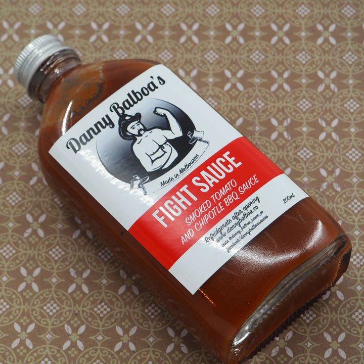 Danny Balboa's Fight Sauce 200ml Hot Sauce ChilliBOM Hot Sauce Club Australia Chilli Subscription Gifts SHU Scoville