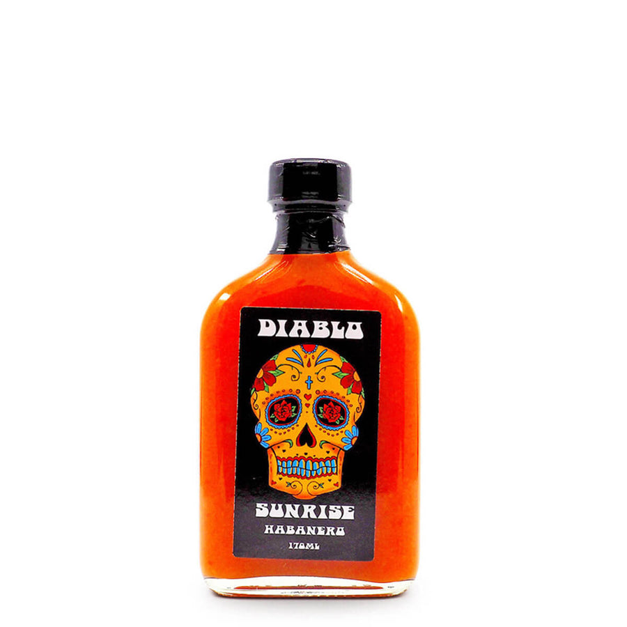 Diablo Sunrise Habanero Hot Sauce 170ml ChilliBOM Hot Sauce Club Australia Chilli Subscription Gifts SHU Scoville