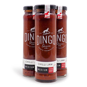 Dingo Sauce Co. Chilli Jam ChilliBOM Hot Sauce Store Hot Sauce Club Australia Chilli Sauce Subscription Club Gifts SHU Scoville group