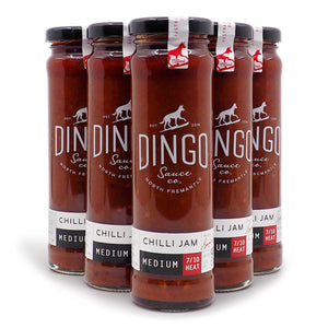 Dingo Sauce Co. Chilli Jam ChilliBOM Hot Sauce Store Hot Sauce Club Australia Chilli Sauce Subscription Club Gifts SHU Scoville group2